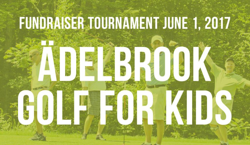 Golf for Kids Tournament — June 1, 2017