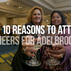 Top 10 Reasons to Attend Cheers for Ädelbrook